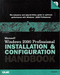Microsoft Windows 2000 Professional Installation