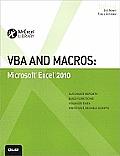 VBA and Macros: Microsoft® Excel® 2010