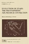 Evolution of Stars: The Photospheric Abundance Connection