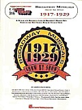 E Z PLAY TODAY 316 Broadway Musicals Show By Show 1917 1929