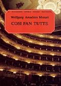 Cosi Fan Tutte In Full Score