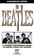 Beatles A Pocket Reference Guide To Mo