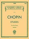 Etudes: Schirmer Library of Classics Volume 33 Piano Solo