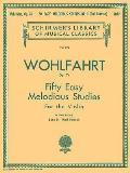50 Easy Melodious Studies, Op. 74 - Book 2: Schirmer Library of Classics Volume 928 Violin Method