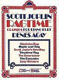 Scott Joplin Ragtime Classics For Piano Duet