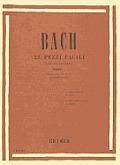 Bach: 23 Pezzi Facili Per Pianoforte [With CD (Audio)]