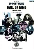 Country Music Hall Of Fame Songbook Volume 1