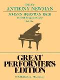Well Tempered Clavier - Book 1: Piano Solo