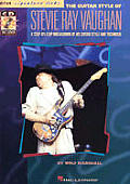 Guitar Style of Stevie Ray Vaughan With CD