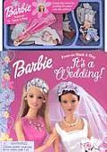 Barbie Its A Wedding Press On Stick & Stay