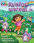 Nickelodeon #1: Dora the Explorer Rainbow Surprise: Felt Fun Storybook