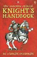 Knights Handbook Usborne Official