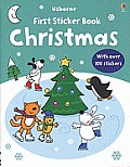 Usborne First Sticker Book: Christmas (Usborne First Sticker Books)