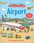 Airport Sticker Book (Sticker Books)