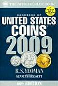 Handbook of United States Coins The Official Blue Book 2009 66th Edition
