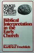 Biblical Interpretation In The Early Chu