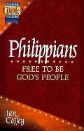 Philippians Free To Be Gods People