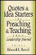 Quotes & Idea Starters For Preaching & T