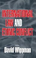 International Law and Ethnic Conflict: The Series in English Fiction, 1850-1930