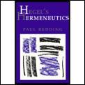 Hegels Hermeneutics