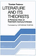 Literature and Its Theorists: A Personal View of Twentieth-Century Criticism