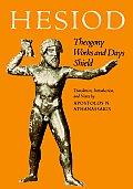 Hesiod Theogony Works & Days Shield