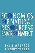 Economics of Natural Resources & the Environment