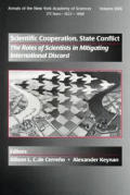 Scientific Cooperation State Conflict