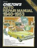 Auto Repair Manual 1940 1953