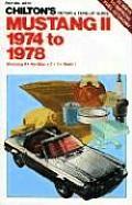 Ford Mustang II Repair Manual 1974 1978