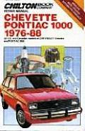 Chevette/Pontiac T1000 1976-88 (Chilton's Repair & Tune-Up Guides)