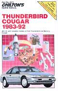 Ford Thunderbird Cougar Repair Manual 1983 1992