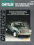 Chrysler Full Size Trucks 1967 1988