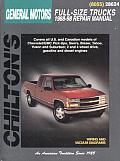 General Motors Full Size Trucks Repair Manual 1988 1998