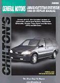 General Motors Lumina Silhouette Trans Sport Venture Repair Manual 1990 1999
