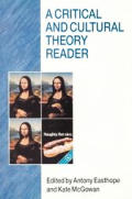 Critical & Cultural Theory Reader