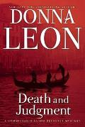 Death & Judgment A Commissario Guido Brunetti Mystery