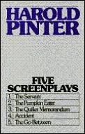 Five Screenplays The Servant The Pumpkin