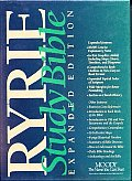 Bible NASB Ryrie Study Bible Expanded Edition Red Letter