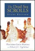 Dead Sea Scrolls Study Edition 2 Volumes