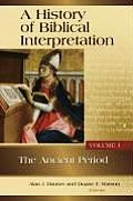 History Of Biblical Interpretation Volume 1