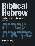 Biblical Hebrew An Introductory Grammar