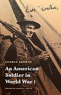 American Soldier In World War I