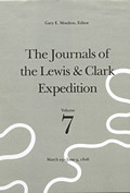 Journals of the Lewis & Clark Expedition Volume 7 Journals of the Lewis & Clark Expedition Volume 7 March 23 June 9 1806 March 23 June 9