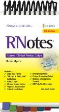 Rnotes(r): Nurse's Clinical Pocket Guide