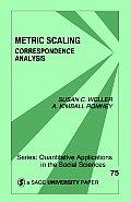 Metric Scaling: Correspondence Analysis