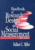 Handbook Of Research Design & Social Mea 5th Edition