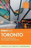 Fodors Toronto with Niagara Falls & the Niagara Wine Region