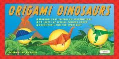 Origami Dinosaurs Kit: Includes 2 Origami Books, 20 Fun Projects and 98 High-Quality Origami Paper: Great for Kids and Parents [With Book(s)]