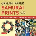 Origami Paper - Samurai Prints - Small 6 3/4 - 48 Sheets: Tuttle Origami Paper: High-Quality Origami Sheets Printed with 8 Different Designs: Instruc